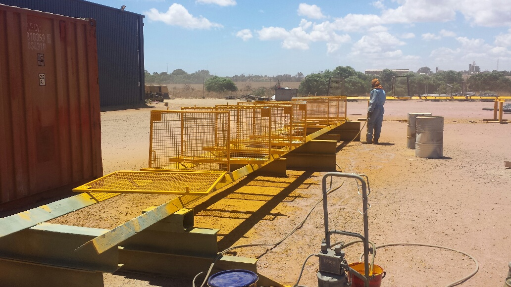 Geraldton Blastworks Providing and implementing abrasive blasting and painting maintenance to a wide area of the construction sector throughout the state of Western Australia.