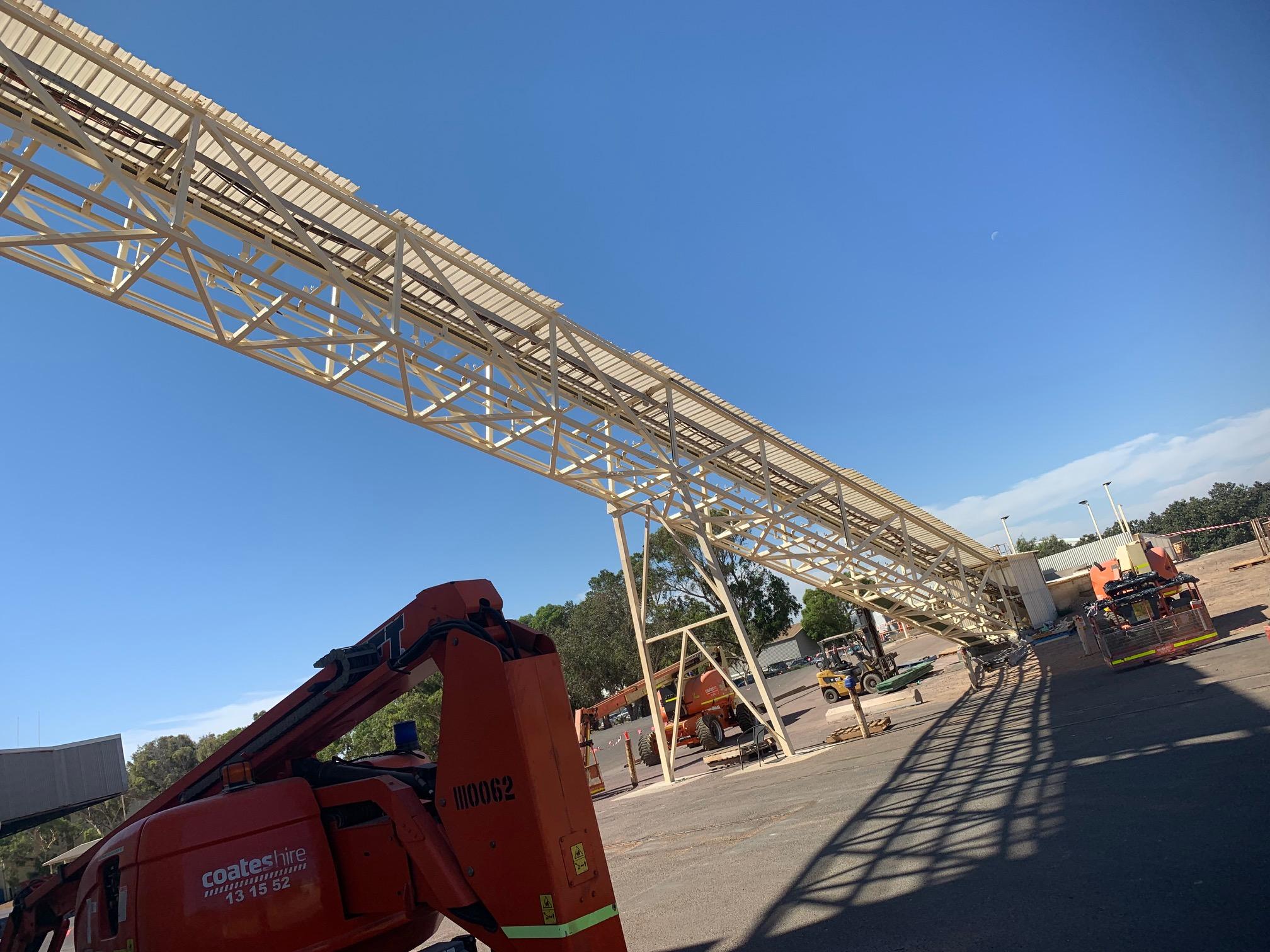 Conveyor Guards & Structures