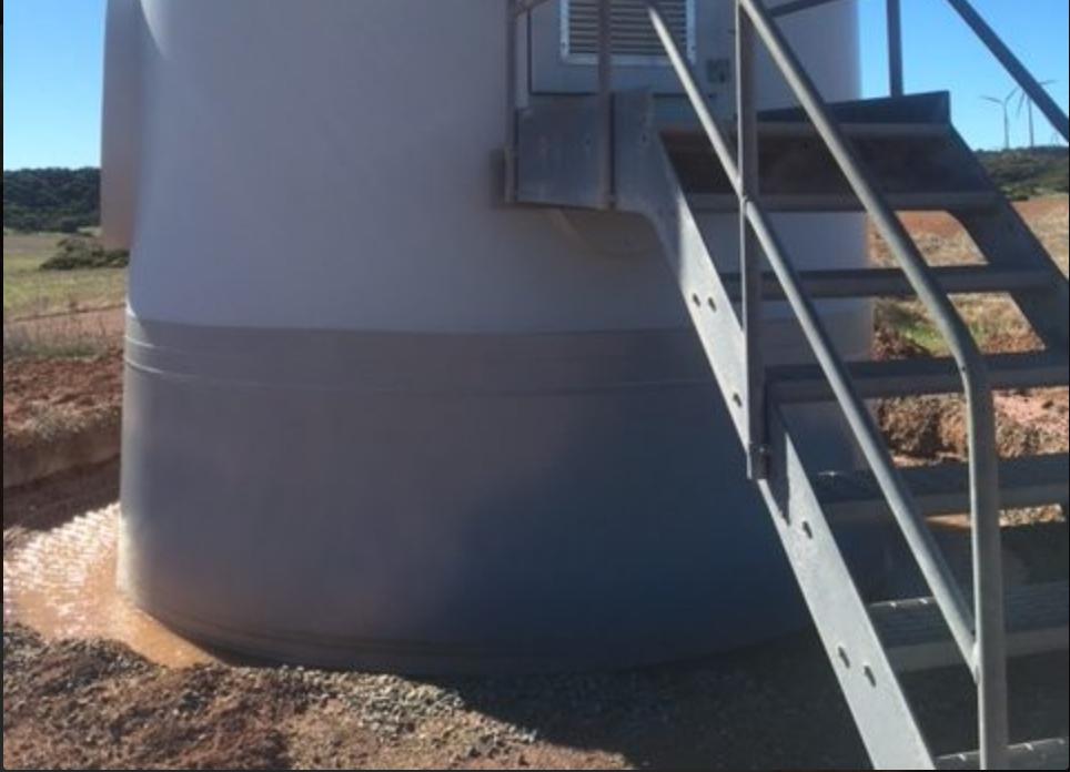 Wind Turbine Corrosion Repair