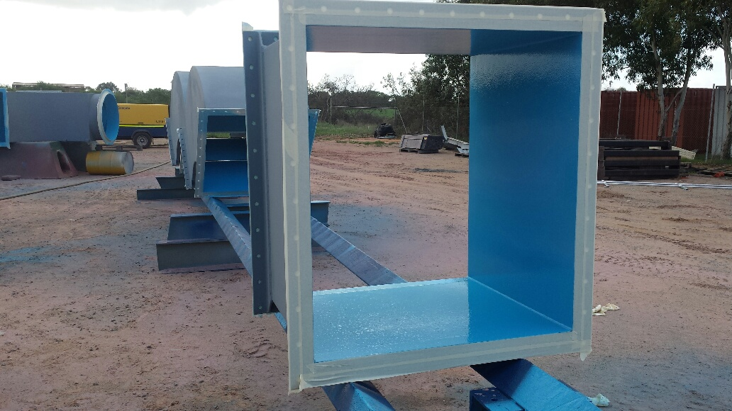 Ceramic lining coatings for mining industry